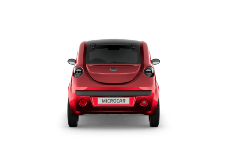 MICROCAR DUE PLUS - FACE ARRIERE
